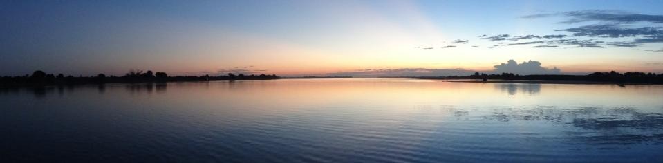sunrise on the river trip