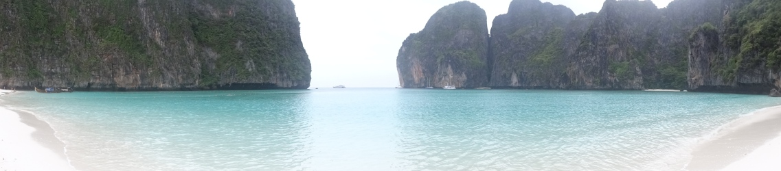 "Maya Beach, setting for ""The Beach"""